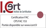 Logo formations reconnue certification FAC